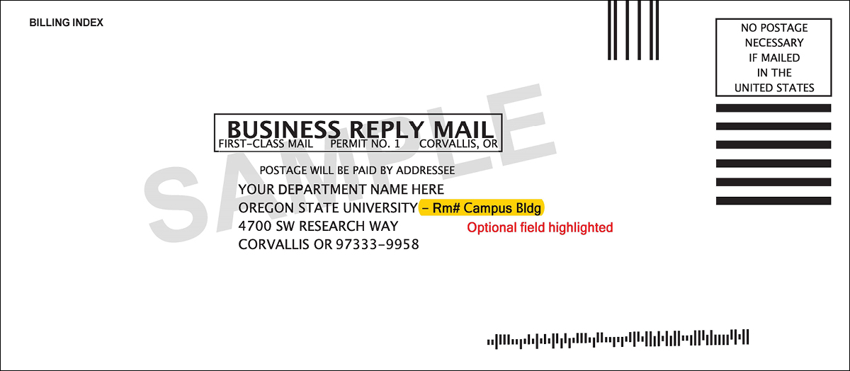 basic business reply mail