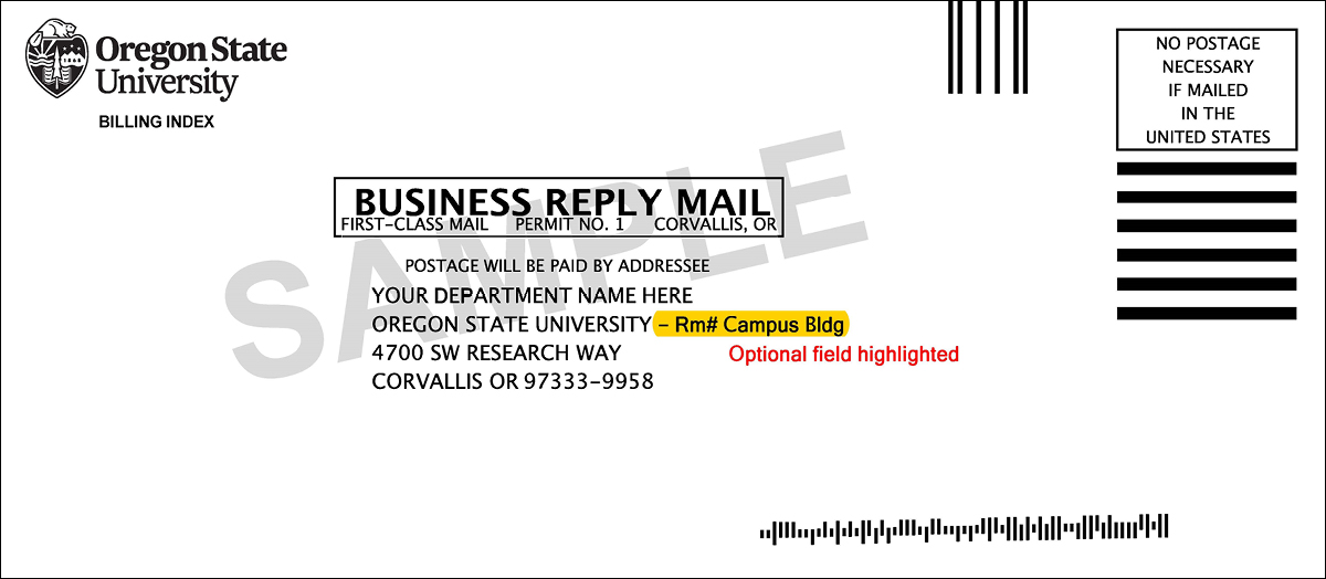 business reply mail with logo 1