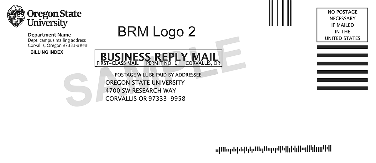 business reply mail with logo 2