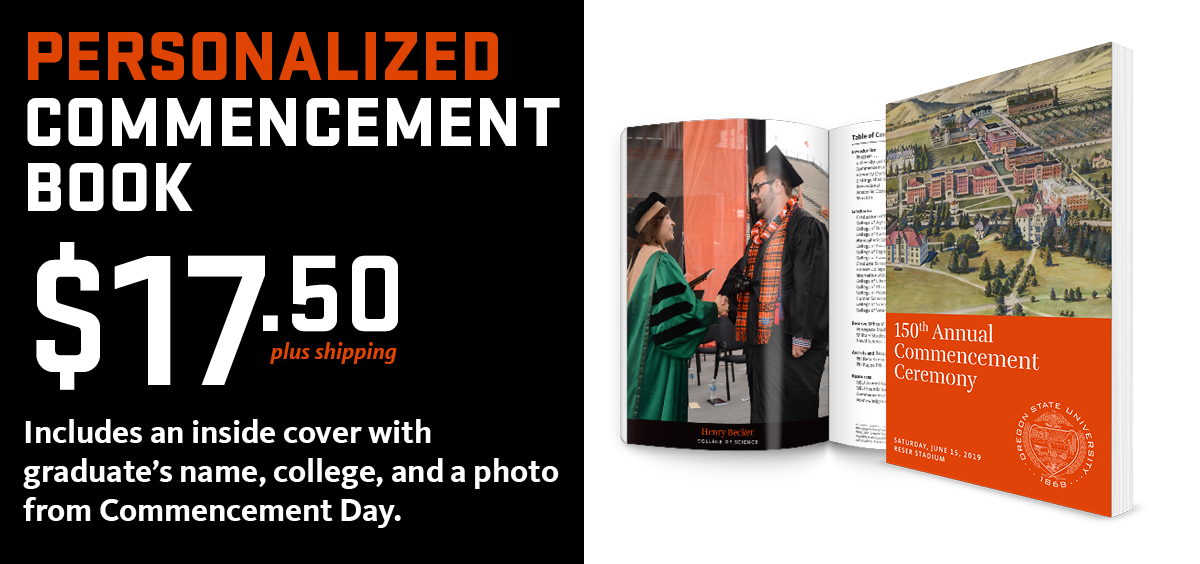 personalized commencement program book